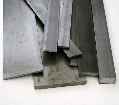 Bright Mild Steel Flat Bar 40mm x 25mm x 500mm  EN3B