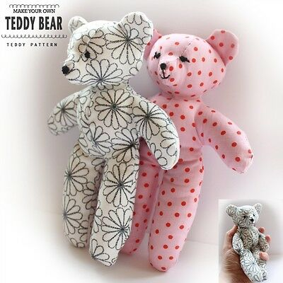 Teddy Bear Patterns, Crochet Patterns, Knitting Patterns and Sewing ...