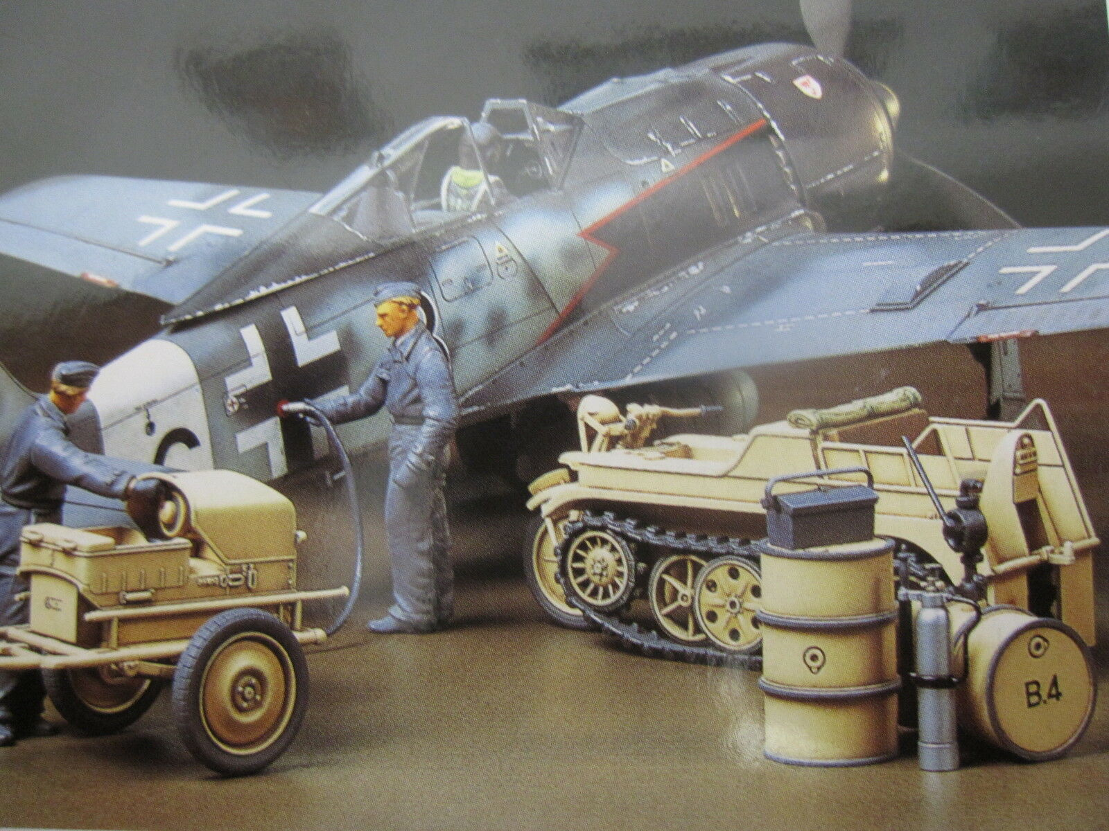 Focke-Wulf Fw 190 A8 A8 R2 mit Kettengrad und Sternthilfegerät TAMIYA 1 48 NEU