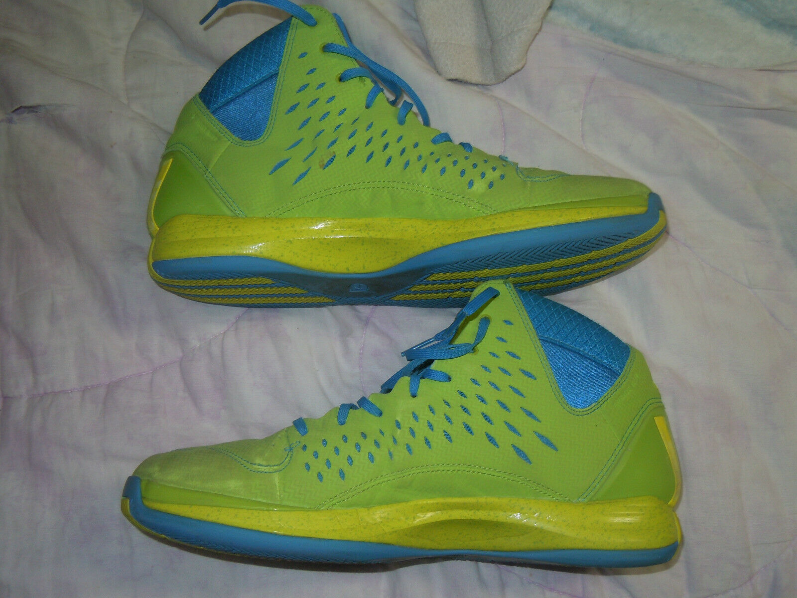 best sneakers db3cc 6058e ADIDAS DERRICK ROSE- SIZE 13-SOUTH 13-SOUTH 13-SOUTH SIDE-