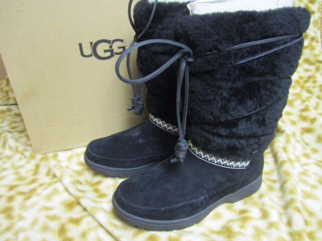 73cc9f3cd876 UGG Australia Womens Black Maxie Waterproof Shoe BOOTS 5 for sale ...