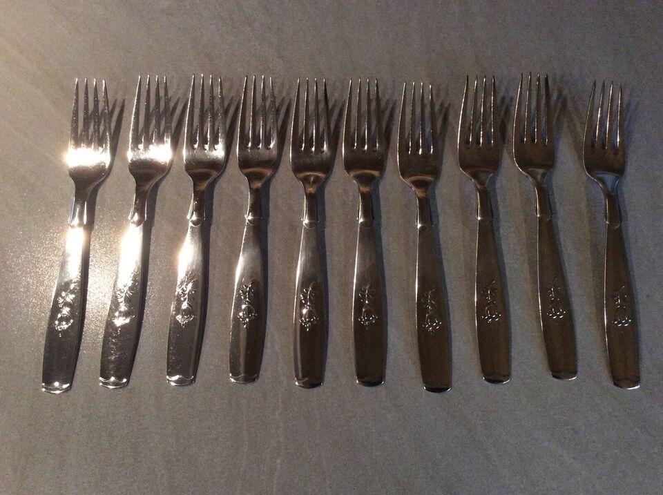 Bestik, Sølvplet sølv plet, Klokkeblomst