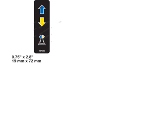 PLATFORM CONTROL CONTROL GENIE GS-1530-137656 DECAL