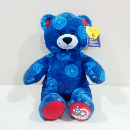 Original Special Captain America Build a Bear Cute Soft Stuff Plush Toy