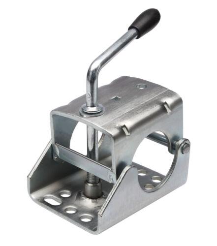 Klemmschelle Anhänger Stützrad Stützen Rohr Ø 60mm Klemme Halter