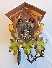 E. SCHMECKENBECHER CUCKOO CLOCK W/ DANCERS & MUSIC FOR PARTS NOT WORKING