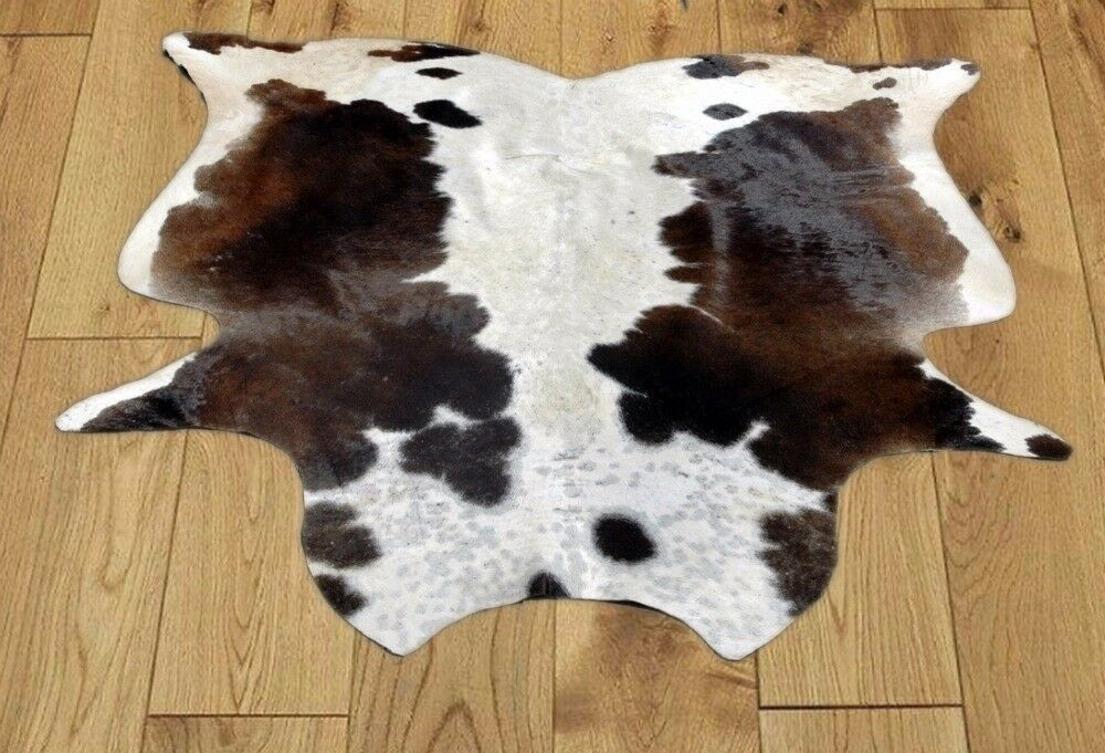 NEW COWHIDE RUGS Area Rugs Cow Skin Hide COWHIDE (60'' x 59'') COWHIDE ULG-3661