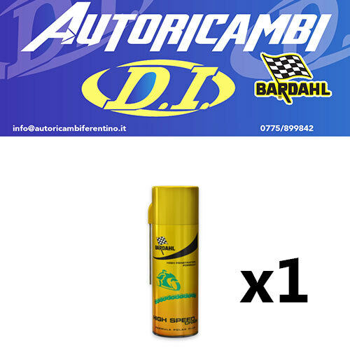 LUBRIFICANTE SPRAY 400 ML BARDAHL GRASSO PER CATENA MOTO HIGH SPEED CHAIN