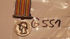 Orden Frankreich Feuerwehr Verdienstmedaille silbern (g551-)