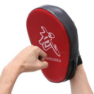 Boxing-Mitt-Training-Target-Punch-Pad-Glove-Focus-MMA-Karate-Combat-Thai-Kick