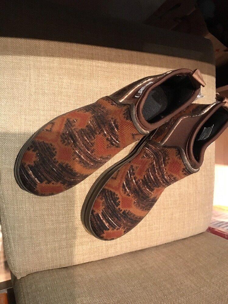 Ankle Boots Muk Luks Anabelle Women's Waterproof Tribal Print Size 8