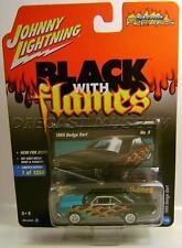 1969 '69 DODGE DART BLACK WITH FLAMES JOHNNY LIGHTNING DIECAST 2017