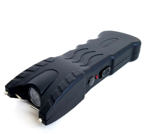 VIPERTEK VTS-979 - 75 Billion Volt Rechargeable LED Light Heavy Duty Stun Gun