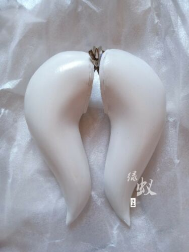 Super Mario Bowsette Kuppa Koopa Hime Princess Cosplay White Horns Handwork Prop