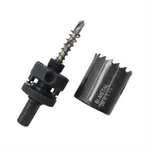 16-53mm Bi-Metal M42 HSS Hole Saw Cutter Drill Bit F Aluminum Iron Plaster Wood