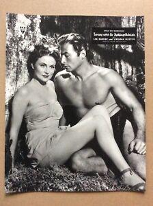 Tarzan-rettet-die-Dschungelkoenigin-Anfertigung-ca-20-jahre-alt-Lex-Barker