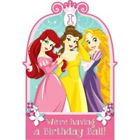 Disney© Princess 1st Birthday Invitations 8 Pc (a491149)