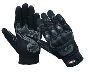 Mens Extra Vented Mesh Knuckle Short Summer Motorbike Motorcycle Gloves Ebay