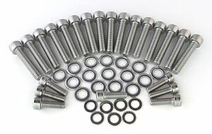 BMW-R1200GS-RT-Silver-STAINLESS-Bolt-Kit-ENGINE-TIMING-COVER