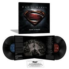 MAN OF STEEL: ORIGINAL MOTION PICTURE SOUNDTRACK [2 LP] [VINYL] HANS ZIMMER NEW