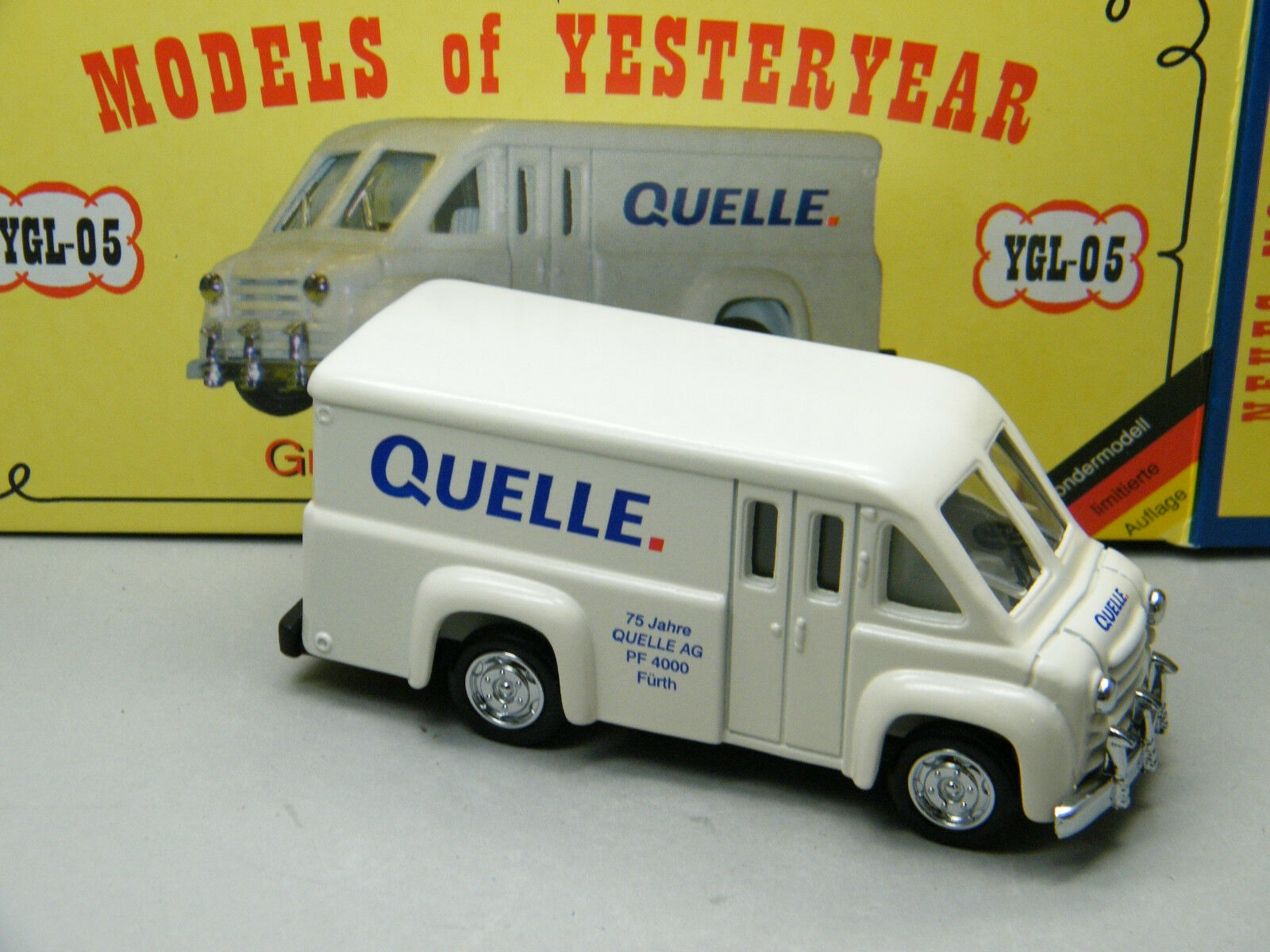 Matchbox MoY C2 YGL-05 Dodge Route Express Van Quelle Versandhaus K31  | Good Design