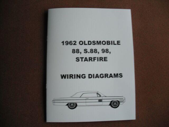 1962 OLDSMOBILE FULLSIZE CARS WIRING DIAGRAMS BOOK - NEW ...