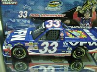 Rare 2009 Ron Hornaday 33 Vfw Camping World Truck Series Championship 1/24