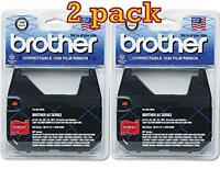 Value Pack Of 2 Brother 1030 Ribbon Cartridge, Yields Up To 50,000 Characters Ea