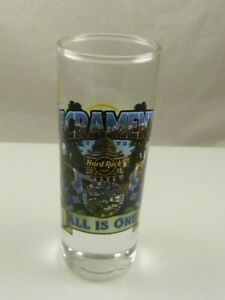 Hard-Rock-cafe-tall-shot-glass-hotel-Fire-Mountain-Sacramento-all-is-one