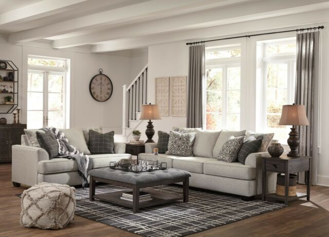 Ashley Furniture Velletri Sofa And Loveseat Living Room Set For Sale