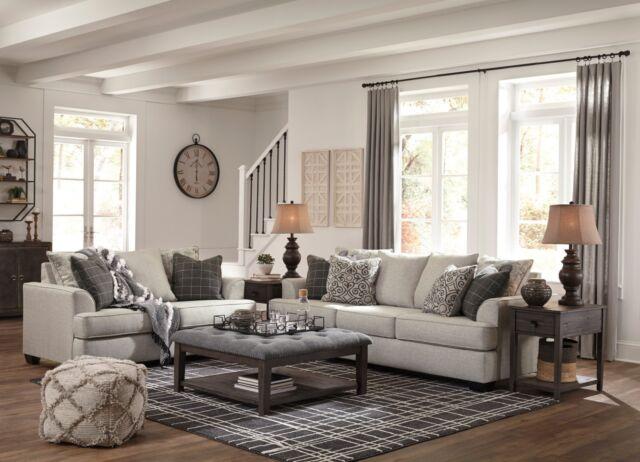 Ashley Furniture Velletri Sofa And Loveseat Living Room Set For Sale
