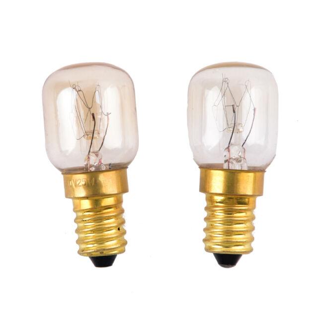1x E14 15W/25W Warm White Oven Cooker Bulb Lamp Heat Resistant Light 220-230V vK