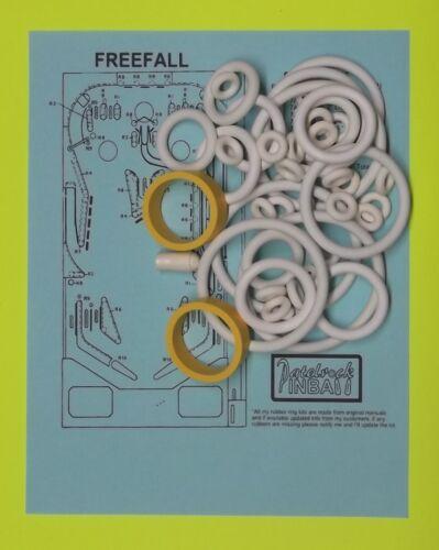 1981 Stern Freefall pinball super kit