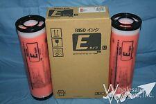 2 Genuine Riso S-7209 Orange Ink Risograph Color RZ MZ EZ S-4283 E Type