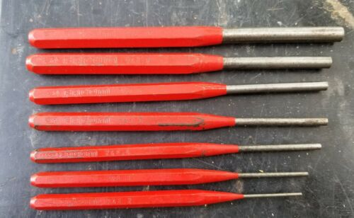 FACOM Punch Set 7 Pieces Steel