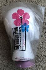 Norman Kartiganer Mannequin Wig Head Amp Stand Form Styrofoam Hats Pink Base Vtg