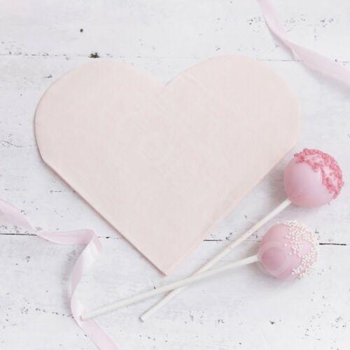 Love Heart Paper Napkins Valentines//Wedding//Engagement Party Napkins Tableware