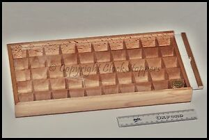 Wooden-Storage-Box-50-Compartments-Beads-Watch-Spares-Parts-Gem-Stones-Container