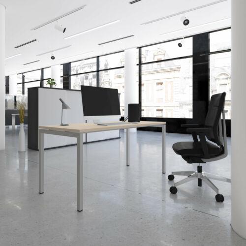NOVA Schreibtisch 160x80cm Ahorn Bürotisch Computertisch Büro
