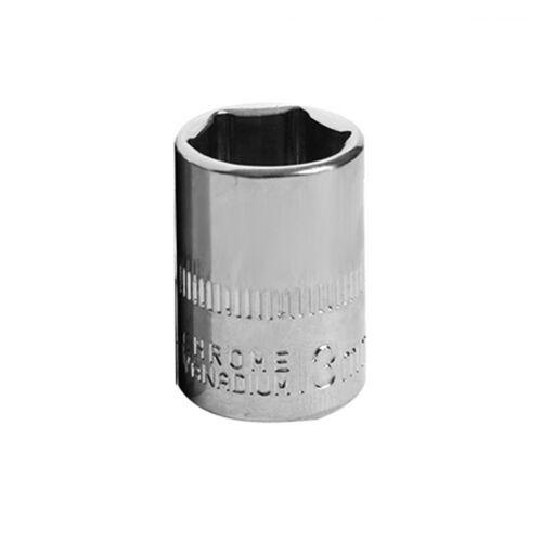 13 Tailles Standard Douille pour Clé 1//10.2cm Lecteur 4~14 mm Métrique mm Chrome