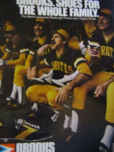 "Pittsburgh Pirates Bill Buckner-Tanner 1979 Brooks Original Print Ad  8.5 x 11/"""