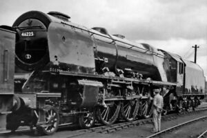 PHOTO-LMS-CORONATION-46225-DUCHESS-OF-GLOUCESTER-AT-CREWE-WORKS-1958