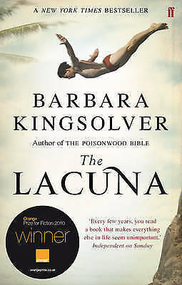 1 of 1 - The Lacuna: A Novel by Barbara Kingsolver (Paperback, 2010)