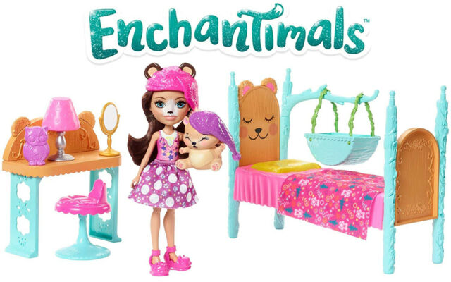 Enchantimals Doll//Pet//Room Playset 1