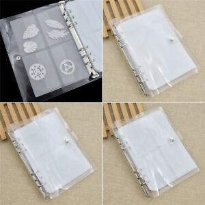 De stockage 1pc Livre Pour Die Cut Cutter découpe Stencil Kit Modèle Accessoires