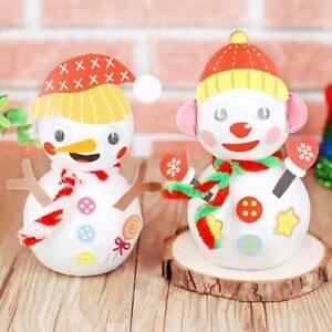 Snowman-Handmade-Material-Snowman-Material-Kit-Mini-Tabletop-DIY-Ornament-Kits
