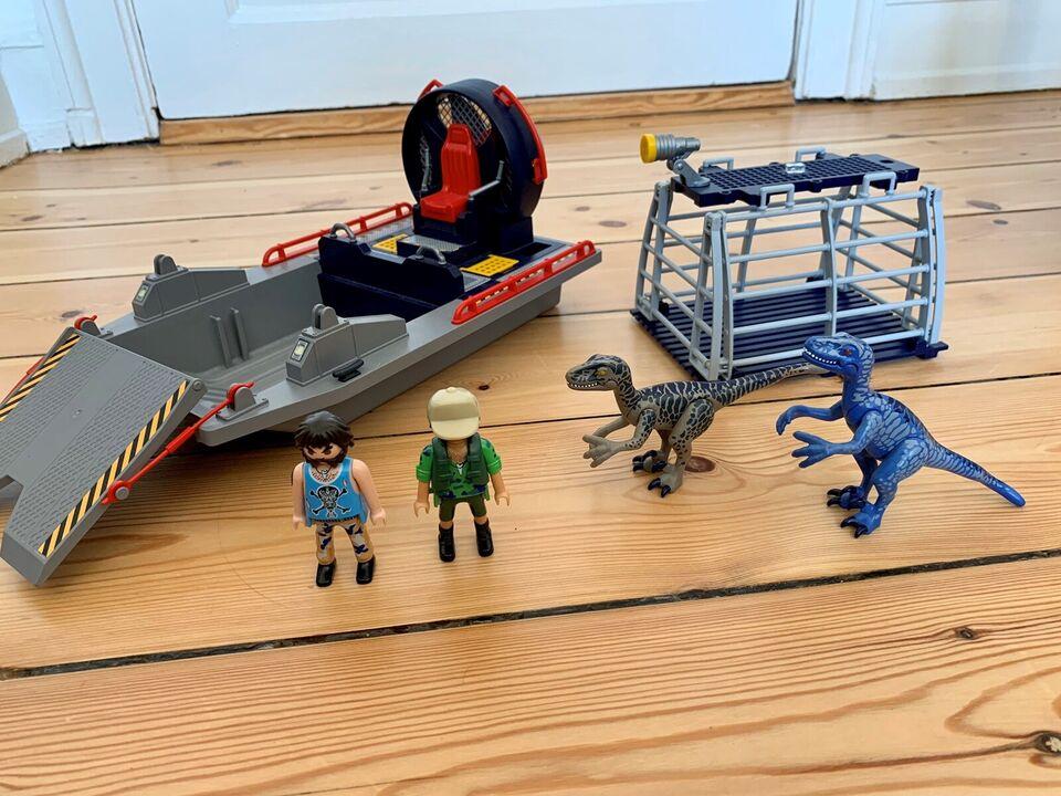 Playmobil, Dinosaurer og propelbåd, Playmobil