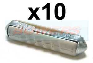 10 X 8A Blanco Continental Fusible