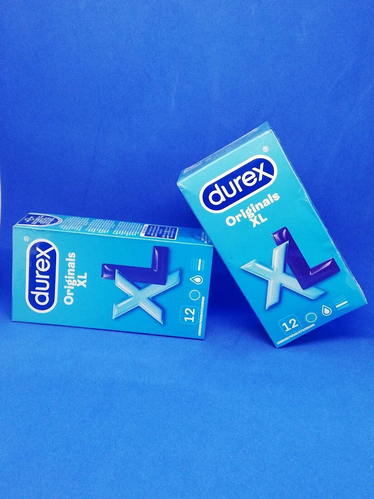 DUREX King Size - Durex Extra Groß - Durex XL - 12 KONDOME -