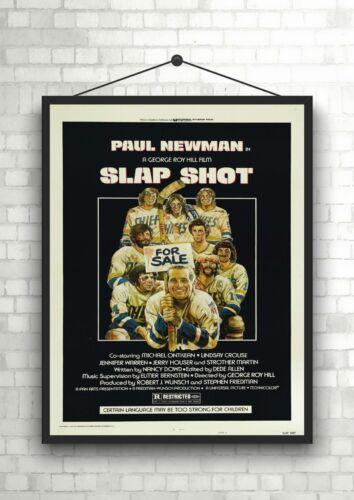 Slap Shot Classic Large Movie Poster Art Print A0 A1 A2 A3 A4 Maxi
